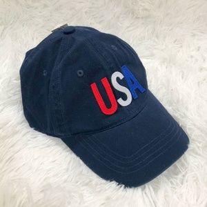 NWT Old Navy Patriotic USA Baseball Cap OS